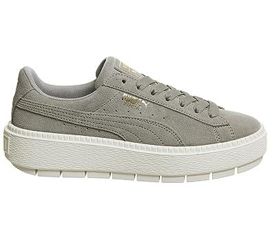 Puma Platform Trace Wns Rock Ridge Marshmallow 365830 06 Damen Sneaker -  sommerprogramme.de 5414fe632a