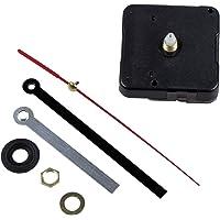 SODIAL(R) Maquinaria Mecanismo Reloj Agujas Manualidad de Artesania AA Negro