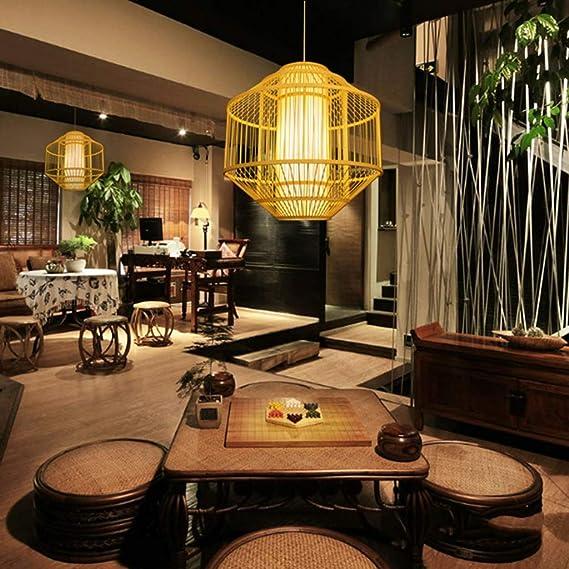 Amazon.com: CTO William 337 - Lámpara de bambú para ...