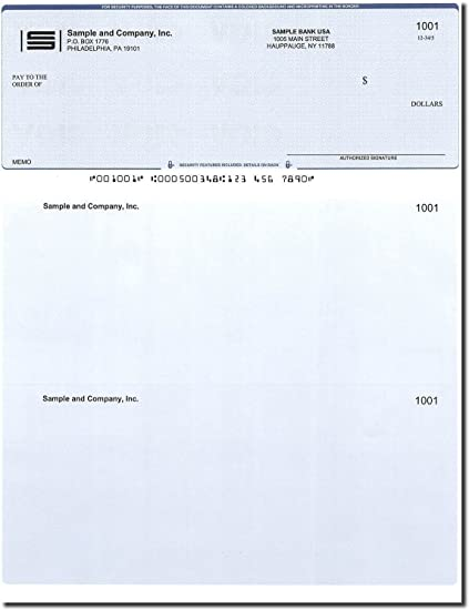 photograph regarding Printable Checks named Computer system Exams - 300 Published Pc Tests - Verify upon Greatest - Suitable for QuickBooks