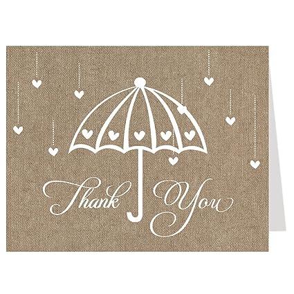 Tarjetas de agradecimiento, novia ducha, morado, Plum, boda ...