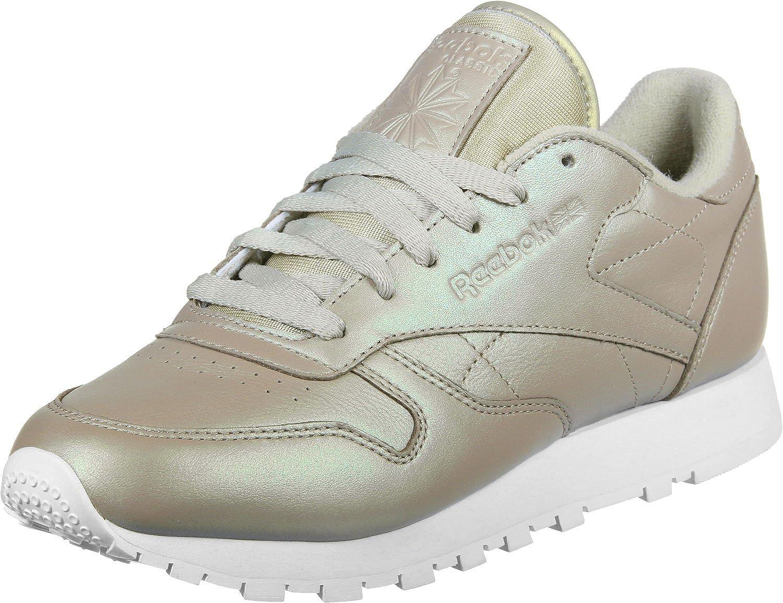 reebok leather beige