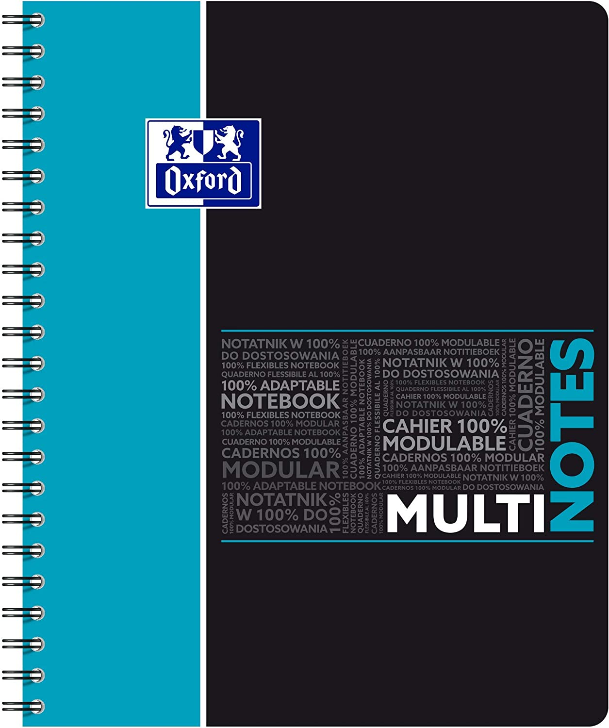 Oxford Students Spiral Notepad Multinote Department store Large Time sale Pages 160 A4+ Squ