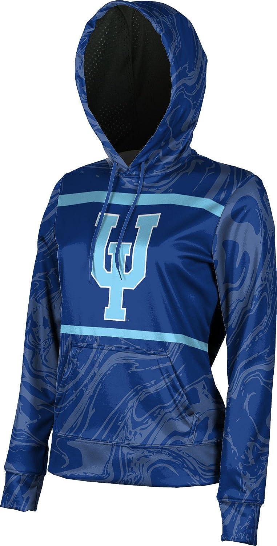 School Spirit Sweatshirt Ripple ProSphere Upper Iowa University Girls Pullover Hoodie