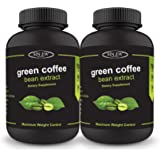 Sinew Nutrition Green Coffee Beans Extract 700 mg (90 Pure Veg Capsules) Pack of 2, 100 % Pure & Natural Weight Management & Appetite Suppressant Supplement