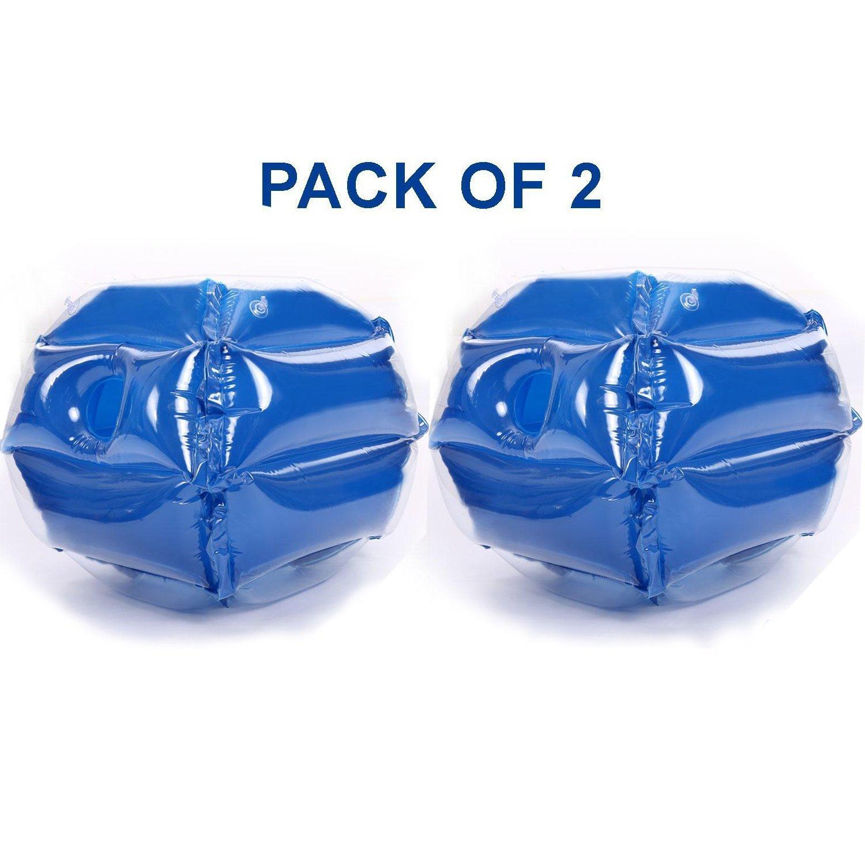 2パックインフレータブルボディバンパーボールHumanバブルサッカーKnocker Zorb Ball For Kids、USストック B0759JKDF1