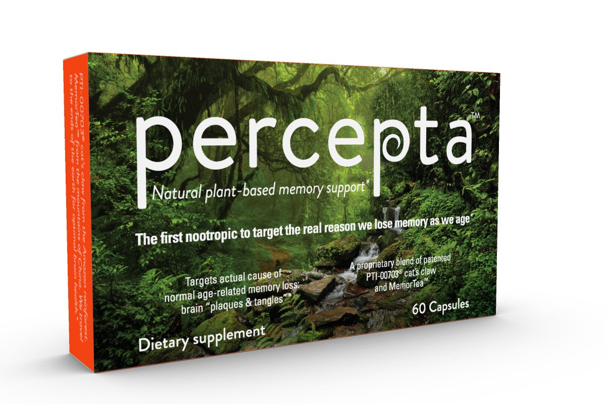 amazon com natural plant based percepta the only memory supplement