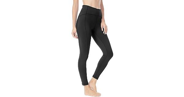 68a195c4f0 Queenie Ke Women Yoga Leggings Nine Pants Power Flex High Waist Gym Running  Tights Size M Color Black