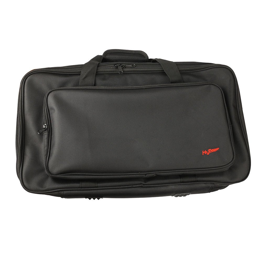 Mr.Power Pedalboard With Carry Bag Made By Aluminium Alloy 16inch-WithBag