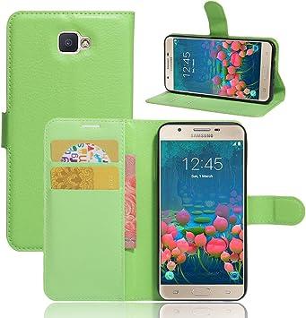 Manyip Samsung Galaxy J5 Prime Hülle Pu Flip Leder Elektronik