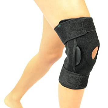 722ab8ec73 Vive Hinged Knee Brace - Adjustable Open Patella Support for Swollen ACL,  Tendon, Ligament