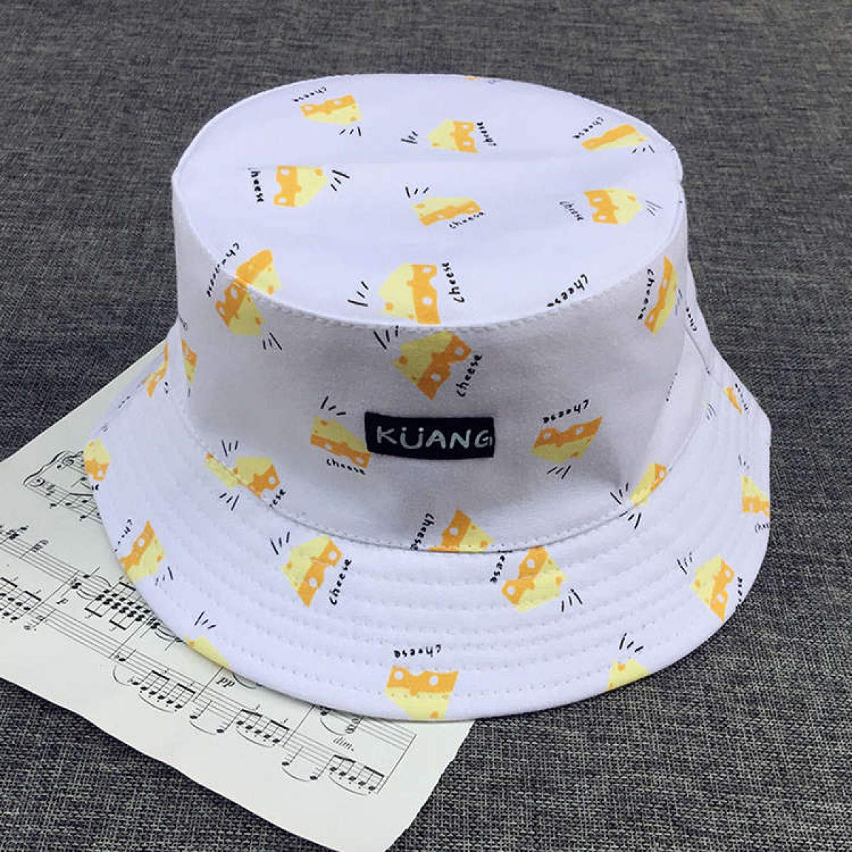Myhome99 Bucket Cap Man Women Unisex Cotton Banana Hat Bob Caps Hip Hop Outdoor Sports Summer Ladies Beach Sun Fishing Bucket Hats Pink