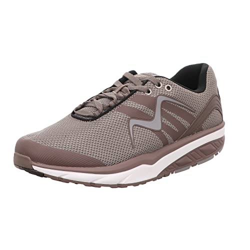 3ecbd6858049 MBT Damen Leasha Trail Lace Up Fitnessschuhe, (Lt.Chocolate Silver),