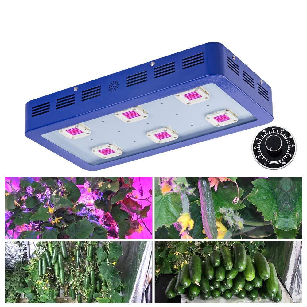Dimmable 1800W LEDは屋内植物のための導かれたライトフルスペクトラムの成長を育てますテントを育てますボックス野菜と花を育てます B07S9BTMGQ