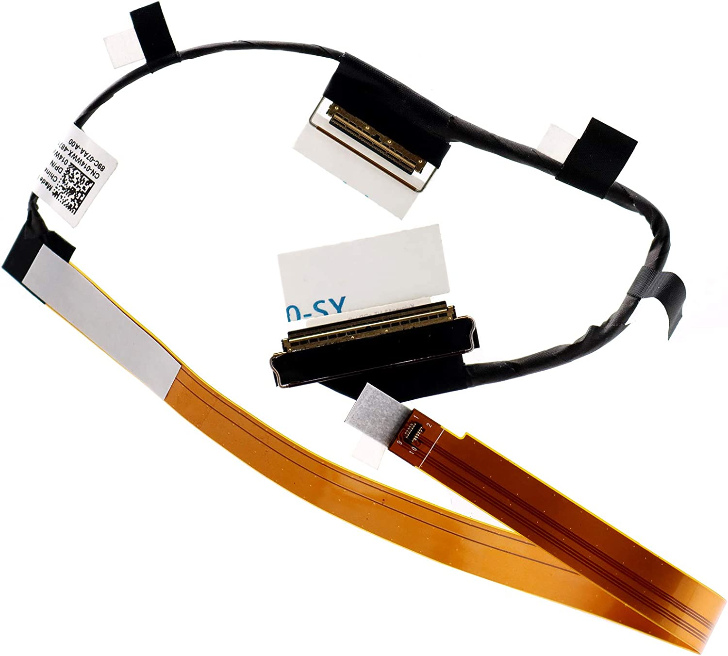Deal4GO Lvds LCD Cable Kyloren13 NT-EDP FHD Ribbon Flex Cable for Dell Inspiron 13 7373 7370 P83G 450.0B808.0003 14WWX 014WWX