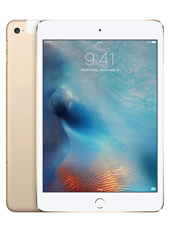 iPad mini 4 (Wi-Fi + Cellular, 128GB) - Oro(Modello Precedente)