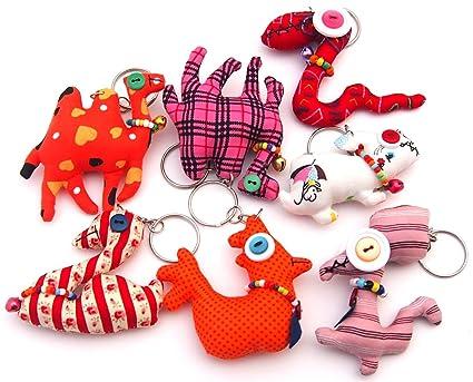 Speical hecho a mano animal Llaveros/Childs Llaveros ...