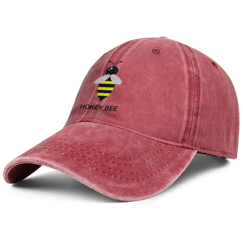 Popular Sport Hat Baseball Cap Trucker Hat QiLarkin Mens Honey-Bee-Logo