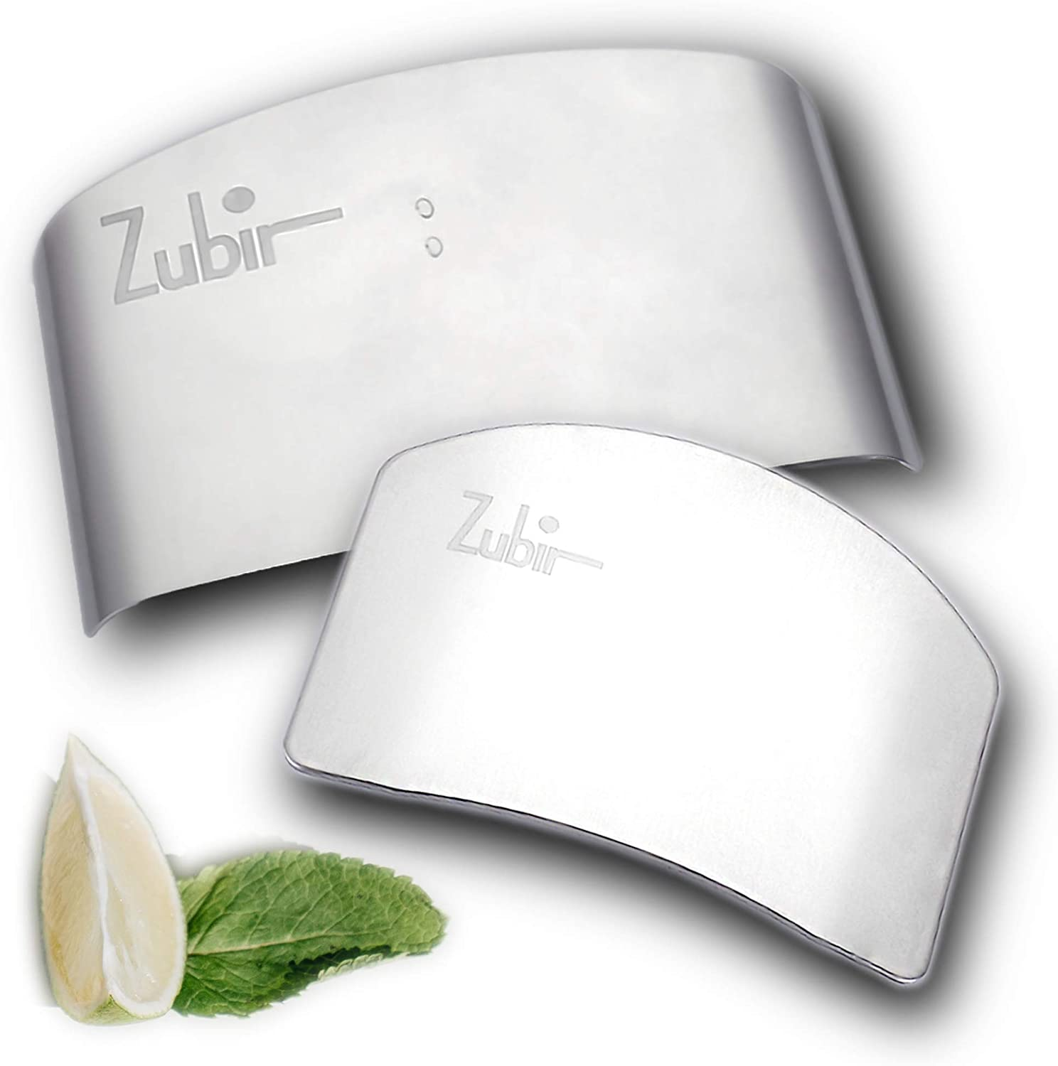 Zubir Finger Guards For Cutting When Slicing and Chopping, 2 Sizes