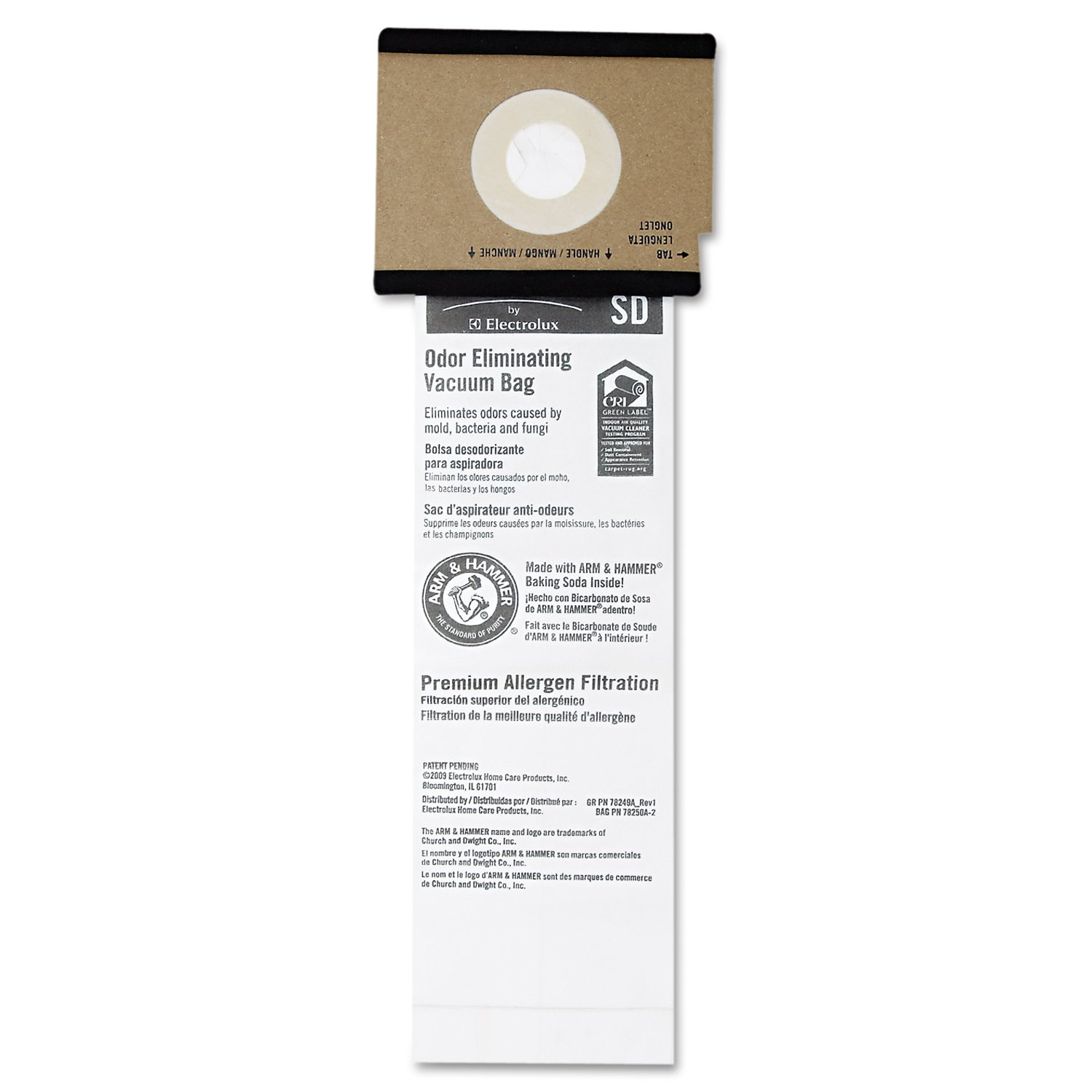 Eureka EUR 63262-10 Vacuum Bags, Disposable for Sanitaire ...