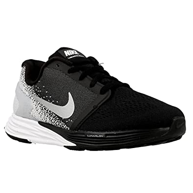 8e5eb9bddbef8 Amazon.com  Nike Lunarglide 7 (GS) US size 6.5 US 747965 001 Bk W  Shoes