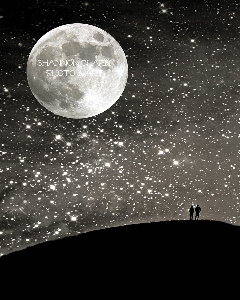 ''Love Under the Stars'' Art Print