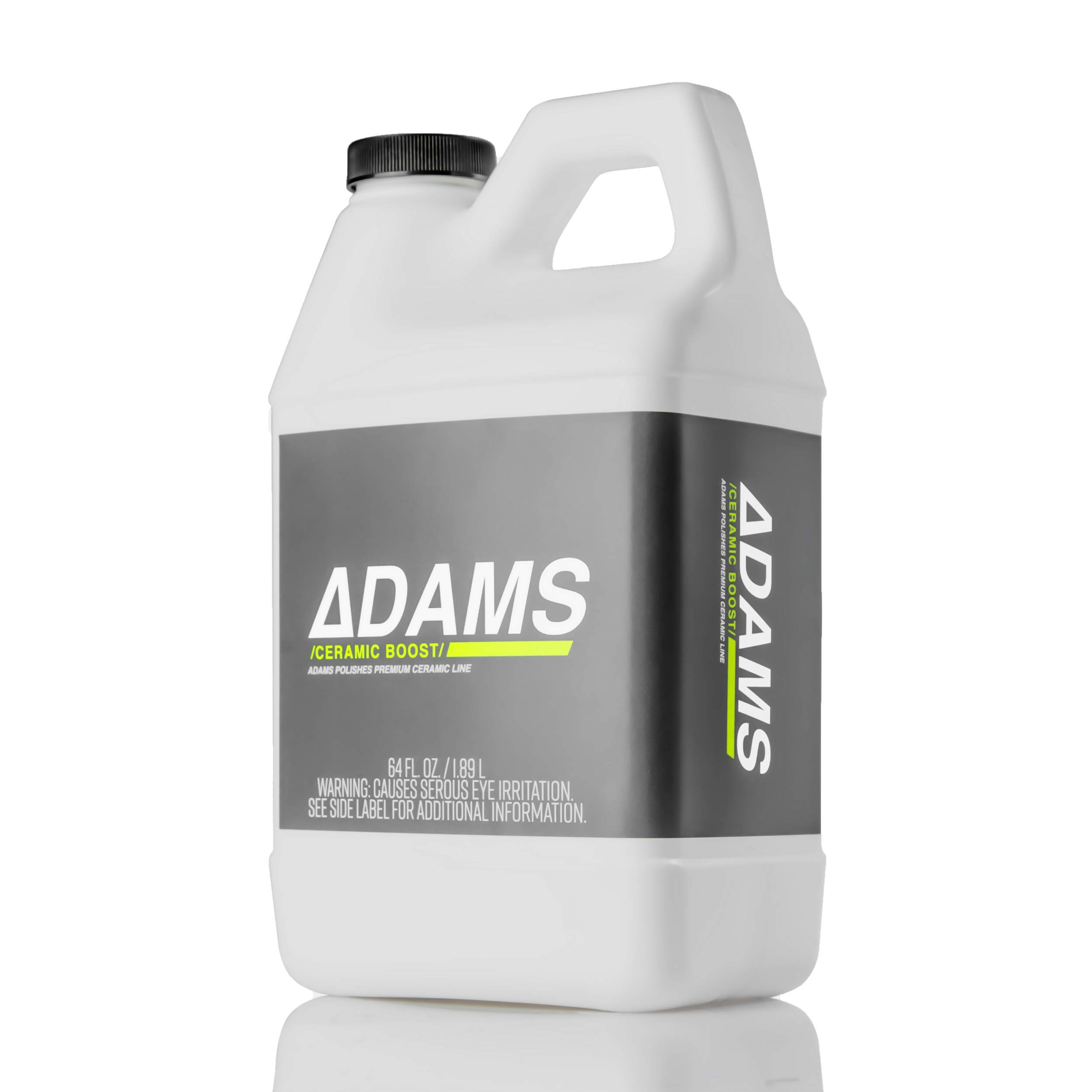 Adam's Ceramic Boost 2.0 - Ceramic Infused Quick Detailer Spray Sealant - Silica Protection Creates a Slick Surface to Bead and Repel Water - Use On Exterior Surfaces Paint, Wheels and Trim (64 oz)