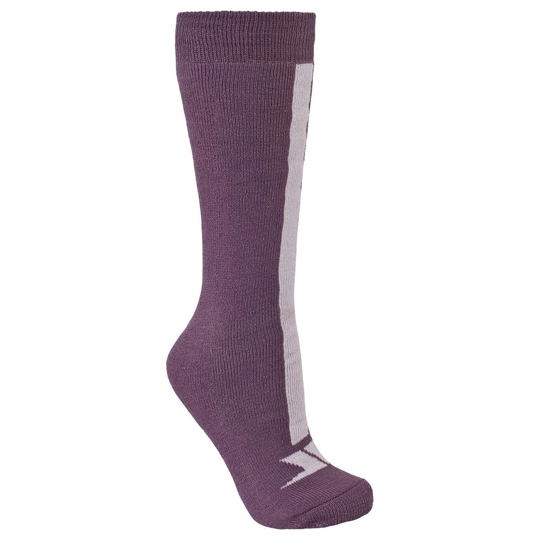 Trespass Kinder Unisex Delamar Ski-Socken, gemustert