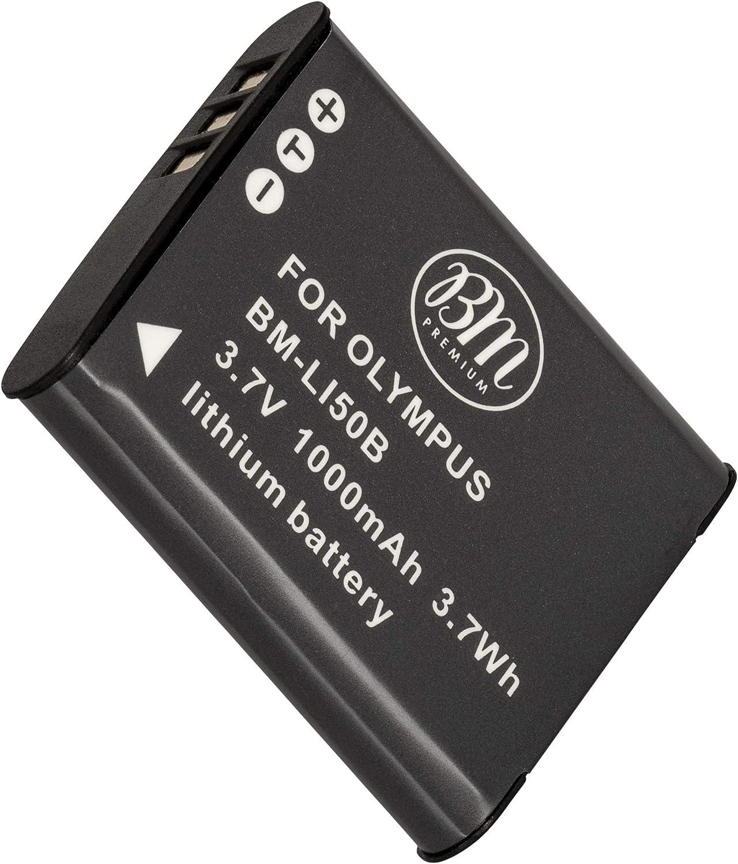 BM Premium LI-50B Battery for Olympus SZ-10, SZ-12, SZ-15, SZ-16 His, SZ-20, SZ-30MR, SZ31MR his, TG-610, TG-630 his, TG-810, TG-820, TG-830 his, TG-870, XZ-1, XZ-16 iHS Digital Camera