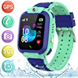 """Kids Smartwatch GPS Tracker Phone - 2019 New Waterproof Children Smart Watches with 1.4"""" Touch Screen SOS Phone Call…"""