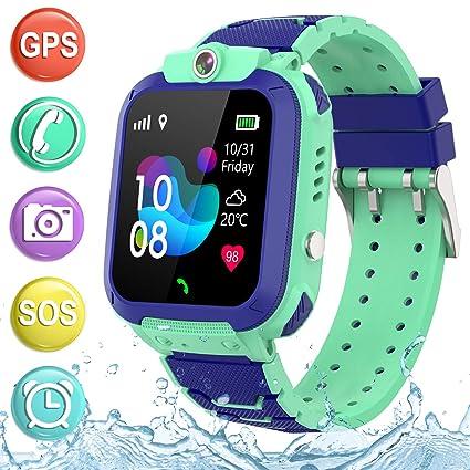 Amazon.com: Reloj inteligente para niños con GPS, 2019 ...