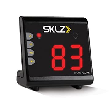 SKLZ Sport Radar fútbol, fútbol, béisbol velocidad Detector de velocidad 15 -150 MPH: Amazon.es: Deportes y aire libre