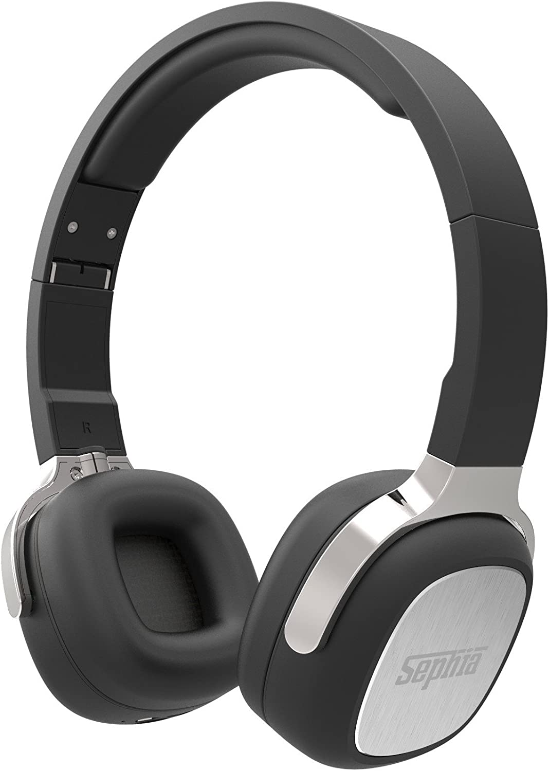 Sephia SX16 Wireless Bluetooth Headphones, Foldable, On Ear, Stereo, Bass Driven Sound for iPhone, iPod, iPad, Samsung, Tablets etc Black