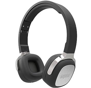 Sephia SX16 - auriculares Bluetooth inalámbricos, plegables, auriculares estéreo, con sonido de bajos, para iPhone, iPod, iPad, Samsung, Tablets etc.