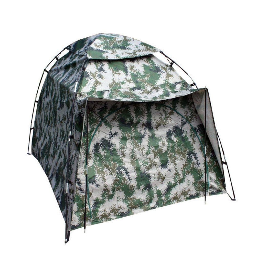 単一のキャンプテントを増やすバックパッキングテントは、カモフラージュを持つ屋外スポーツのための防水テントを組み立てる必要があります B07C1JV5M1 B07C1JV5M1, くすりの福太郎:702f1d9b --- ijpba.info