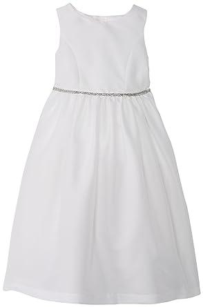 d5c6cdf65e85 Amazon.com: Pippa & Julie Little Girls' Toddler Shantung Flower Girl ...