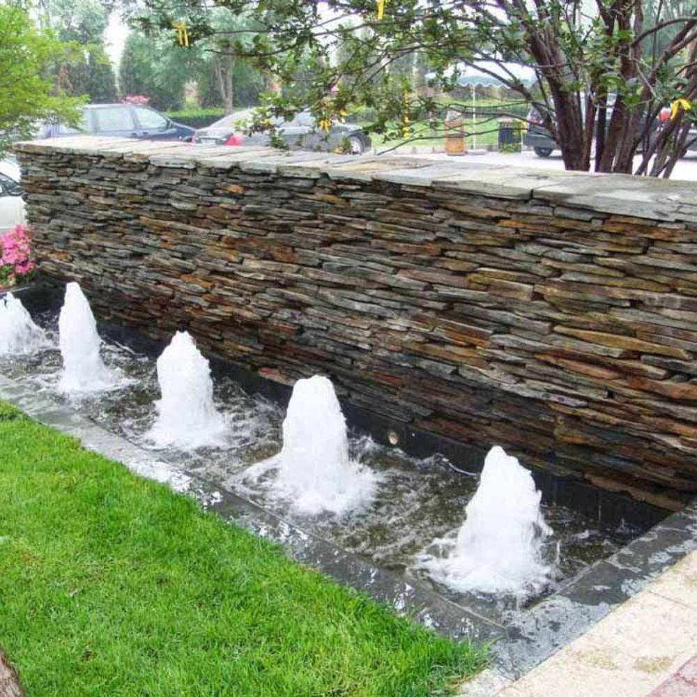 BIG-DEAL Brass Yongquan Jet Bubbling Fountain Sprinklers 3/4'' 1'' 1.5'' 2'' Bubble Foam Nozzle Garden Landscape Ornamental Fountain 1Pc - (Color:2 inch)