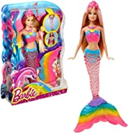 Barbie Rainbow Lights Mermaid Doll, Blonde