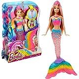 Barbie Rainbow Lights Mermaid Doll, Blonde