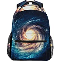 Cartoon Backpack Backpack School Bag Laptop Travel Bags for Kids Boys Girls Women Men Galaxy Stars Space Universe Nebula