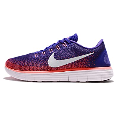 new arrival 33c0a 2411a Nike Free RN Distance, Mens Running Shoes, Purple (MoradoSalmónBlanco