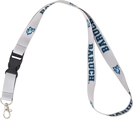 w//Pouch State University of New York NCAA Car Keys College ID Badge Holder Lanyard Keychain Detachable Breakaway Snap Buckle Geneseo