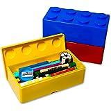 Building Brick Storage Boxes (Set of 3)