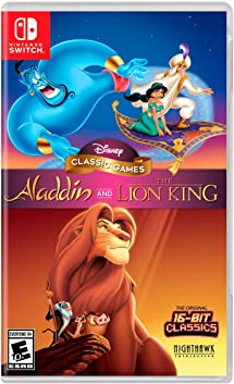 Two of the most beloved Disney games of all time make their long-awaited return to modern consoles in Disney Classic Games: Aladdinand The Lion King! Thisunforgettable package of Disney classicsisfilled with tons of new features, enhancements, game modes, and display options, plus multiple versions of the games! Join Aladdinand his sidekick, Abu, as they race through the marketplace toward their date with destiny. The Lion Kingbrings to life the majesty and mystery of Africa through the tale of Simba, a lion cub faced with the challenging transition to maturity. Now, you too can be part of the adventure!