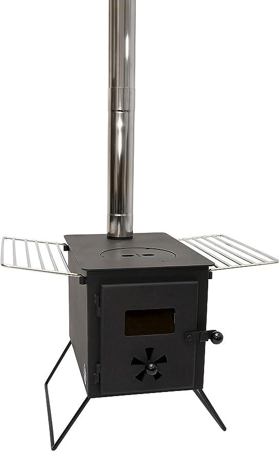 Outbacker Firebox Hornillo portátil para madera