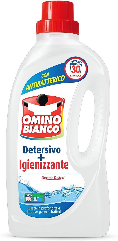 Muñeco blanco Detergente Lavadora y desinfectante–30Lavados