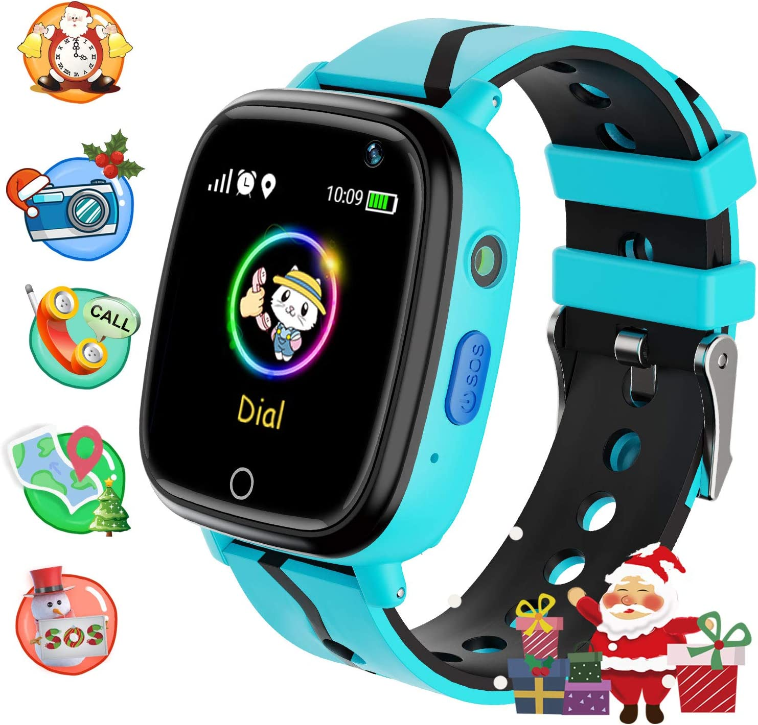 Childrens Watches Phone, Sports Kids Smart Watches for 4-15y Boys and Girls, HD Touch Screen Smartwatch Phone Real-time Positioning with Call Remote ...