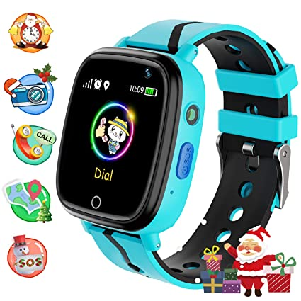 Amazon.com: Lsflair - Reloj inteligente para niños con ...