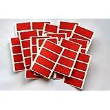 80 Pegatinas - Adhesivo De color Etiquetas Autoadhesivas para color Codificación - Rojo