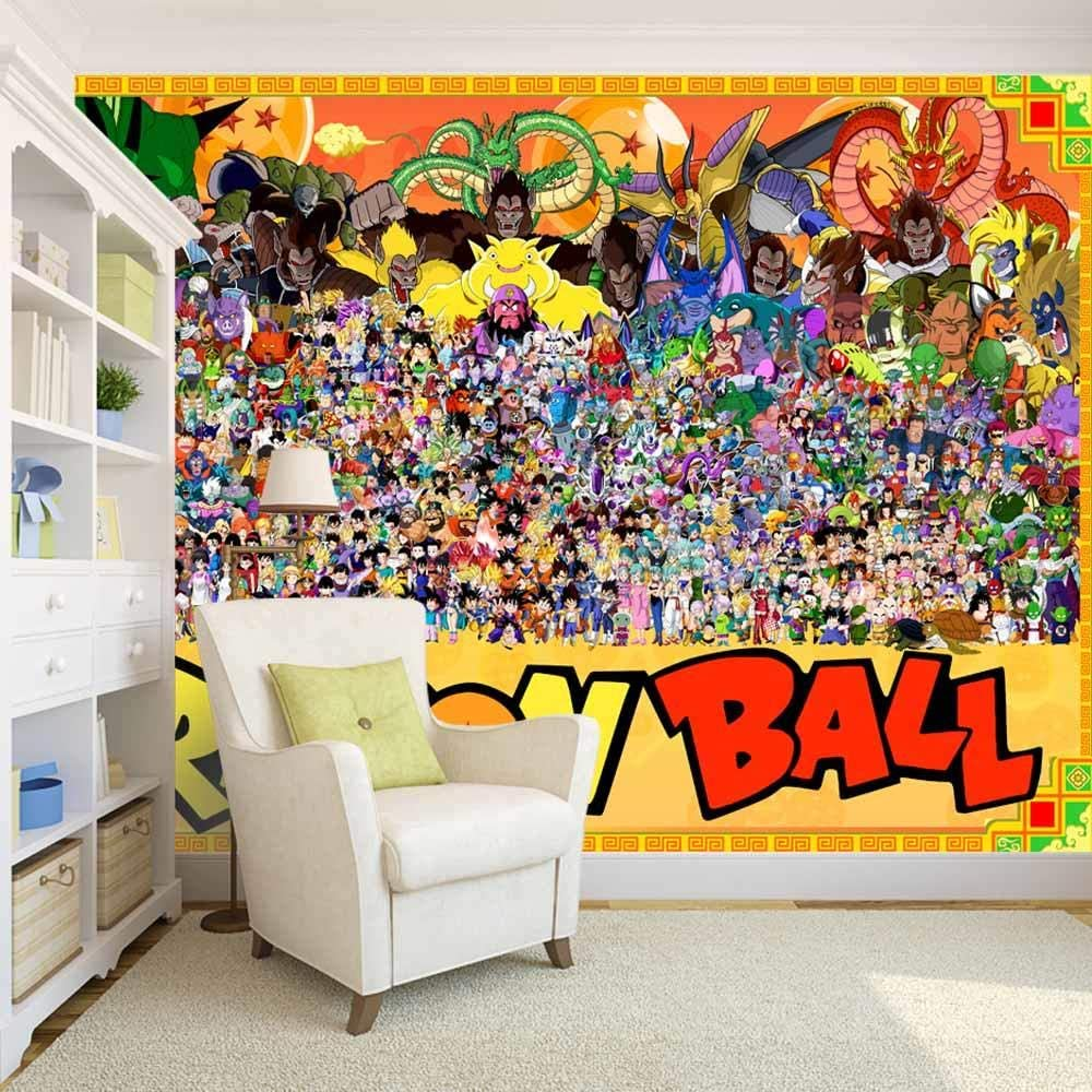 Zxjwzw Dragon Ball Cartoon Anime Wallpaper Tv Sofa Background 3d Wallpaper Mural For House Kids Living Bedroom Office Gym Shop Hallway Studio Wall Art Decor 200cmx140cm W H Amazon Co Uk Diy Tools